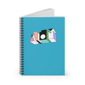 ATOM ♦ Spiral Notebook – Ruled Line