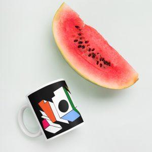 ATOM ♦ Black Mug