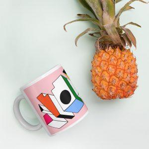 ATOM ♦ Pink Mug