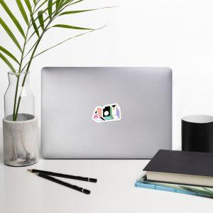 ATOM ♦ Colourful Bubble-free stickers