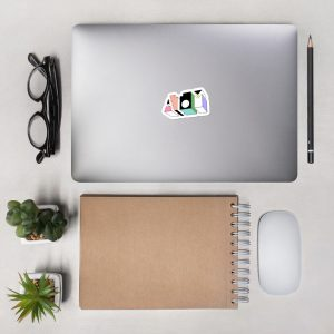 ATOM ♦ Colourful Bubble-free stickers