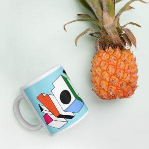 ATOM ♦ Blue Mug